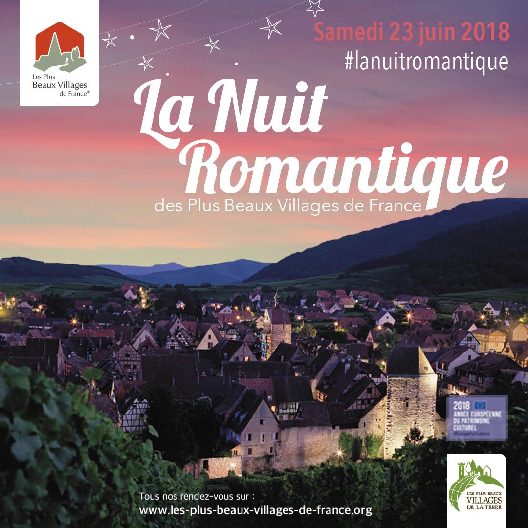 Séjour de la Nuit du romantisme - Monestiés