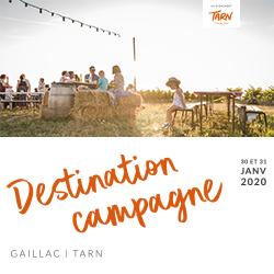 Destination Campagne - 1er rendez-vous national des acteurs touristiques à la campagne