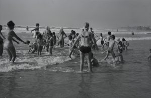 Vacances des mineurs à Ilbarritz en 1964