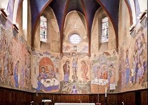 Eglise de Rosières décorée par Greschny