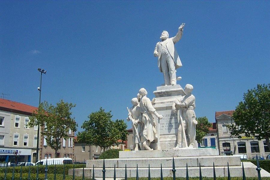 Statue Jaurés et les mineurs © Office de tourisme de Carmaux