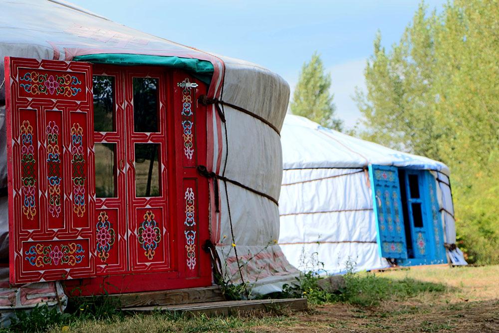 Yourte camping Sainte Marie © Cap'Découverte