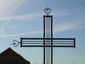 Croix en fer forgé - Saint-Christophe (Tarn)