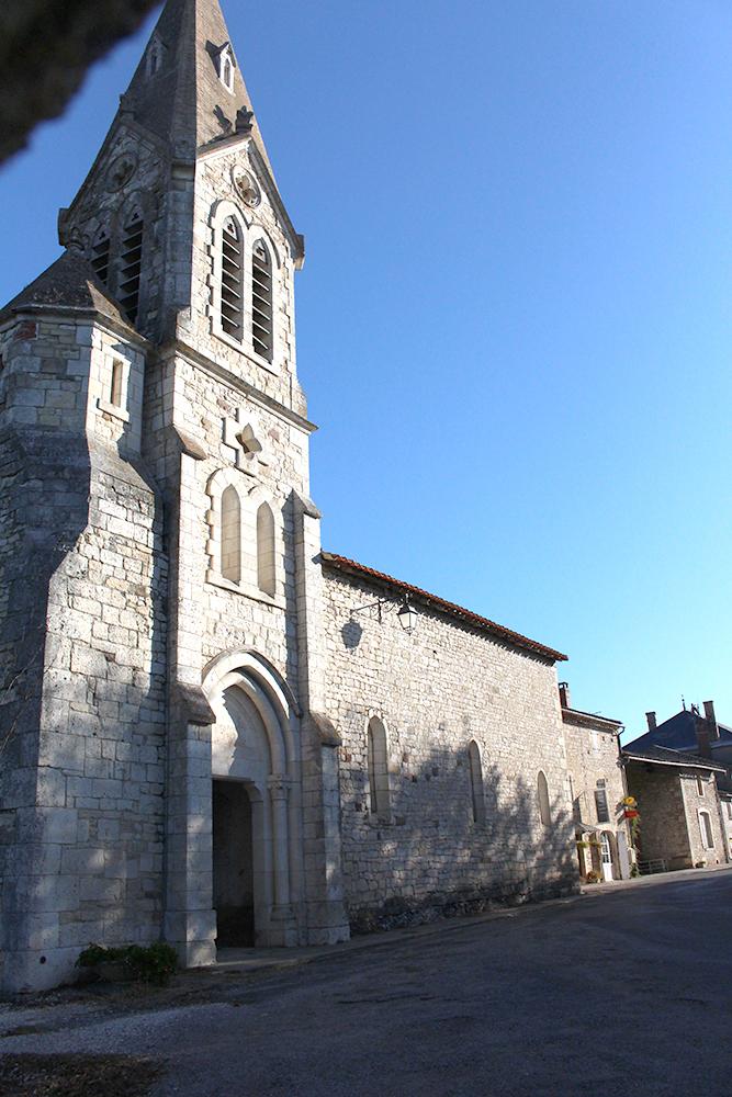 Eglise Saint Sauveur - Villeneuve sur Vère(Tarn) © Office de tourisme du Ségala tarnais