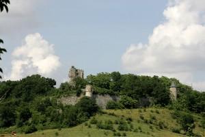 Vestiges du Château de Combefa, résidence d'été des évêques d'Albi