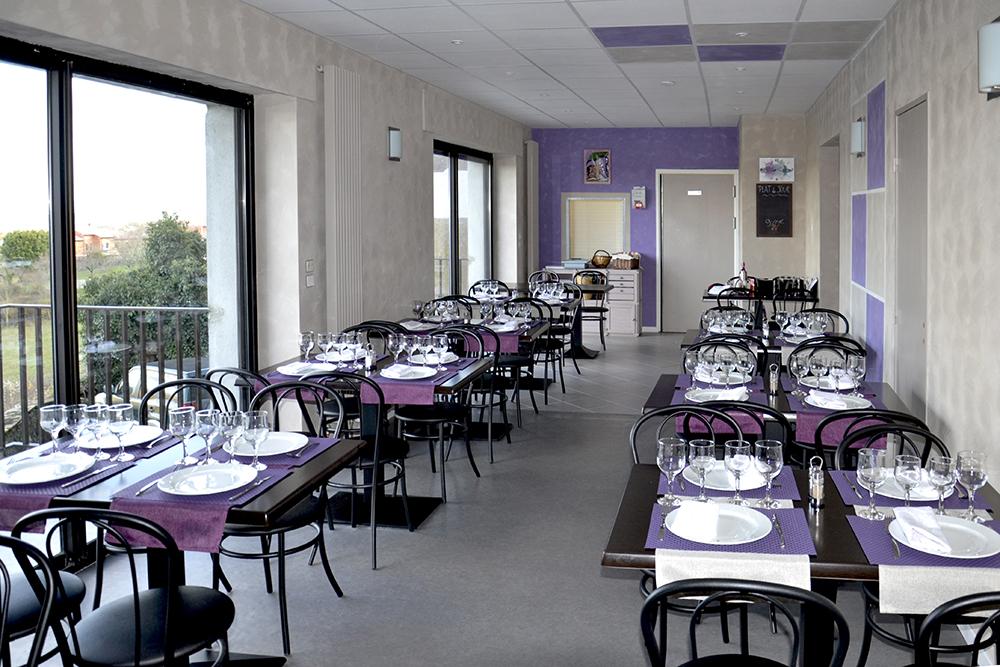Salle du restaurant Le Petit Mineur