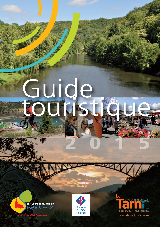 Guide touristique de l'office de tourisme du Ségala tarnais