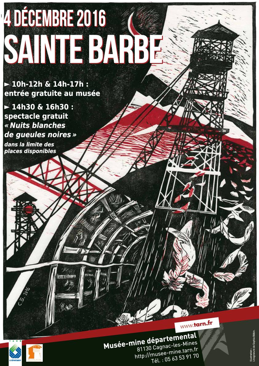 Fête de la Sainte Barbe au Musée-mine départementale