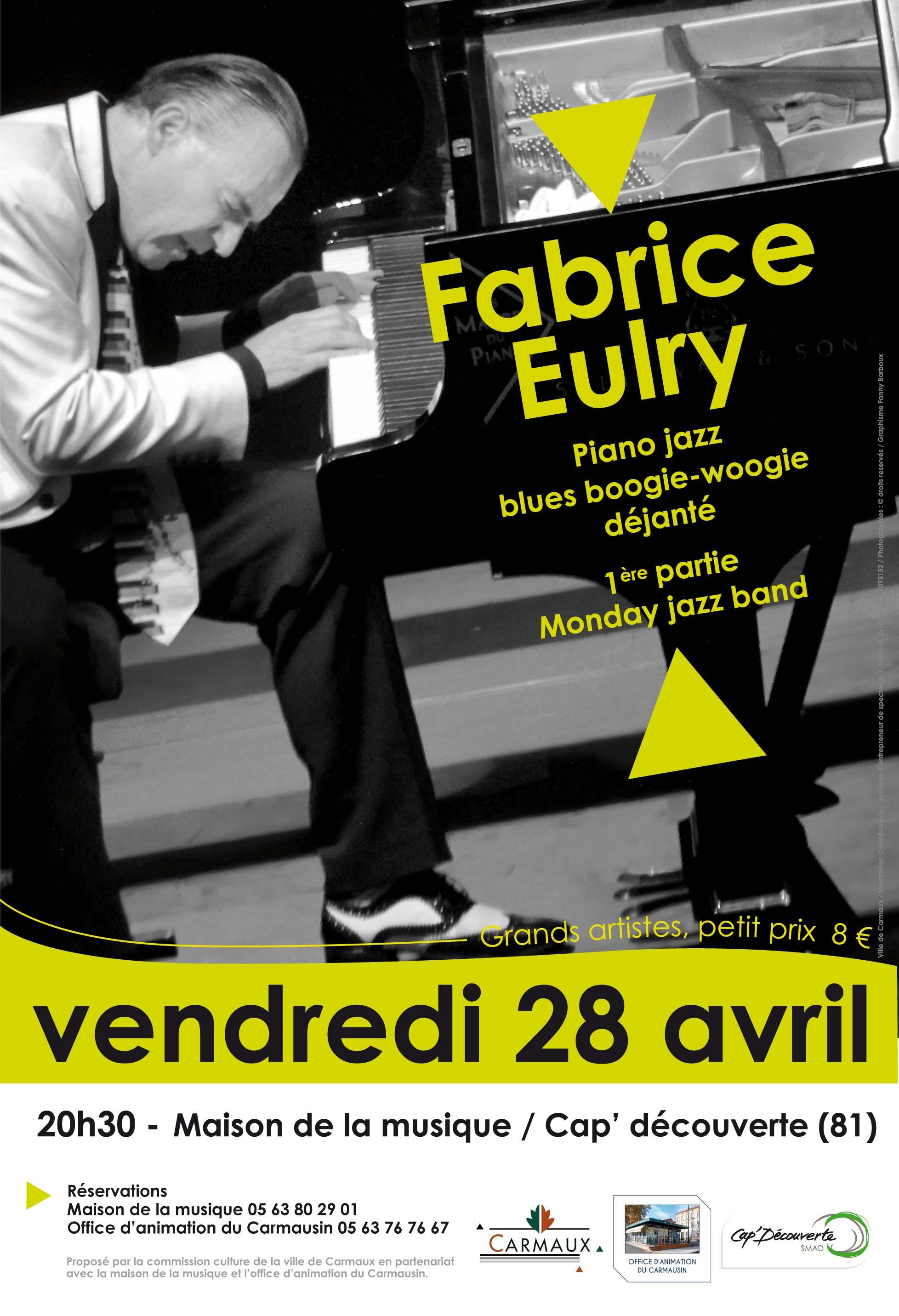 Concert de Fabrice EULRY