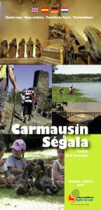 Carte touristique en langues étrangères du Ségala tarnais