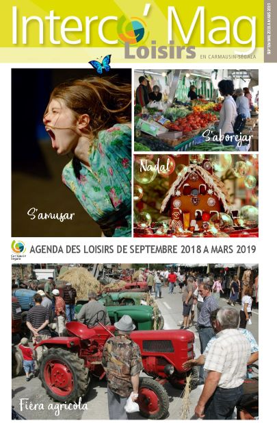 Interco' Mag Loisir de Septembre 2018 à Mars 2019 du Ségala tarnais